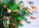 Christmas Tree Animal Decorations