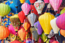 Traditional Silk Lanterns, Hoi An, Vietnam