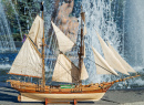 Model of a Tall Ship