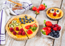 Fruit Tarts with Fresh Berries