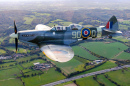 Spitfire MJ627, Biggin Hill, London, UK