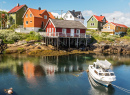 Fishing Village Henningsvaer, Lofoten Islands, Norway