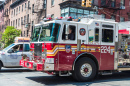 Fire Truck in New York City