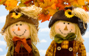 A Couple of Scarecrows