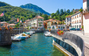 Como Lake Harbor, Lenno, Italy