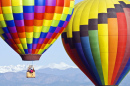 Hot Air Balloon Rally in Colorado