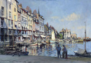 Morning Sunlight, Honfleur