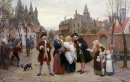 A Baptism in Flanders in the 18th Century