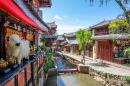 Old Town of Lijiang in Yunnan, China