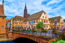 Strasbourg City, Alsace, France