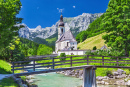 Village of Ramsau, Berchtesgaden Alps
