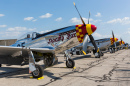 P-51 Mustang on Display, Ypsilanti, Michigan