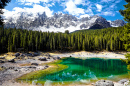 Carezza Lake, Dolomites, Italian Alps