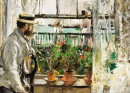 Eugène Manet on the Isle of Wight
