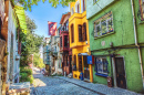Balat District of Istanbul, Turkey