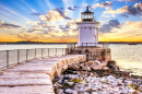 Portland Breakwater Light, Maine, USA
