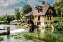 Water Mill in Fourges, France