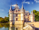 Chateau d'Azay-Le-Rideau, Loire Valley, France