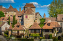 Village in Loubressac, France