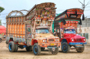 Decorated Trucks in Punjab, Pakistan