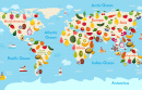 Fruit World Map