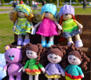 Handmade Dolls in the Park