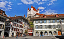 Thun Castle and City Hall Square, Switzerland