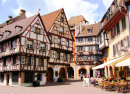 Alsatian City of Colmar, France