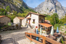 Village Bulnes, Spain