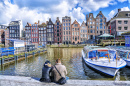 Amsterdam Waterfront, Netherlands
