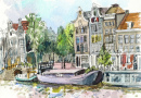 Amsterdam Watercolor