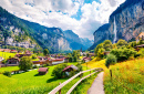 Lauterbrunnen Village, Swiss Alps