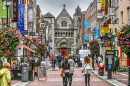 Grafton Street Mall, Dublin, Ireland