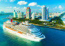 Carnival Magic Cruise Ship, Miami Port