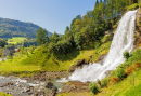 Steinsdalsfossen Waterfall, Norway