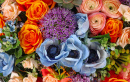 Roses, Anemones and Lilac