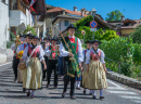 Religious Procession in South Tyrol, Italy