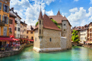 Castle on the Canal, Annecy, France