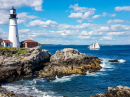 Portland Head Light, Cape Elizabeth, Maine