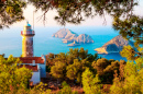 Gelidonya Lighthouse, Lycian Way, Turkey