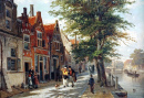 A View of the Brouwersgracht, Haarlem