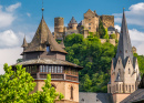 Schonburg Castle, Rhine Valley, Germany