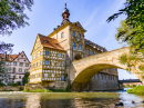 Old Town Hall on the Bridge, Bamberg, Germany