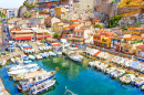 The Vallon des Auffes, Marseilles, France