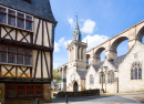 Morlaix Old City, Brittany, France