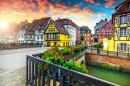 Canal in Colmar, France