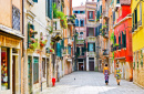Colorful Venetian Houses