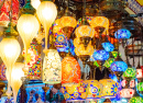 Lanterns at the Grand Bazaar in Istanbul, Turkey