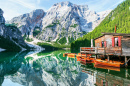 Braies Lake, Italian Alps
