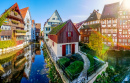 Fishing District, Ulm, Germany